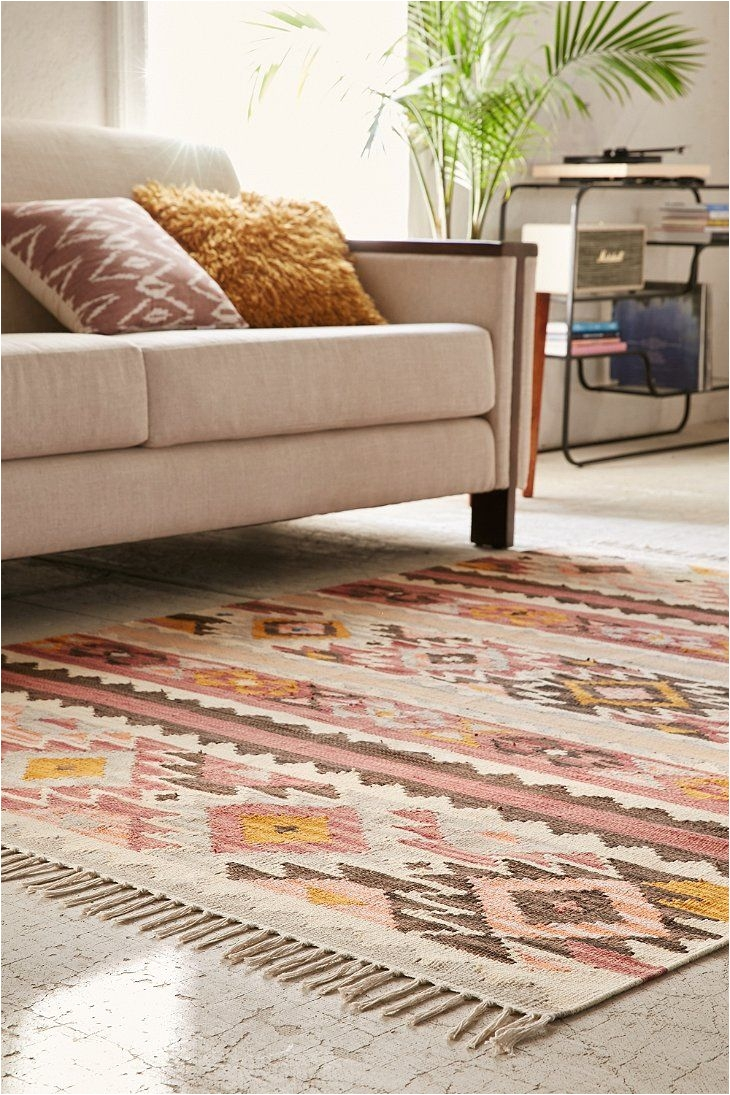 magical thinking kara kilim woven rug