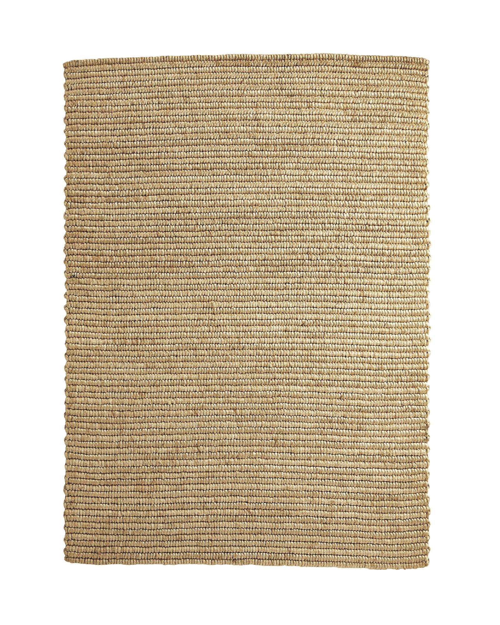braided abaca rug