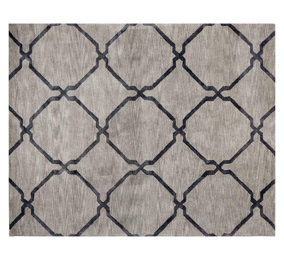 Pottery Barn Rugs 8 10 Tonal Tile Tufted Rug Grey Pottery Barn Au
