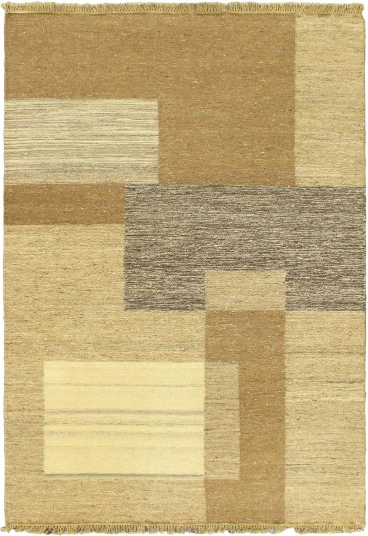 open field light beige area rug