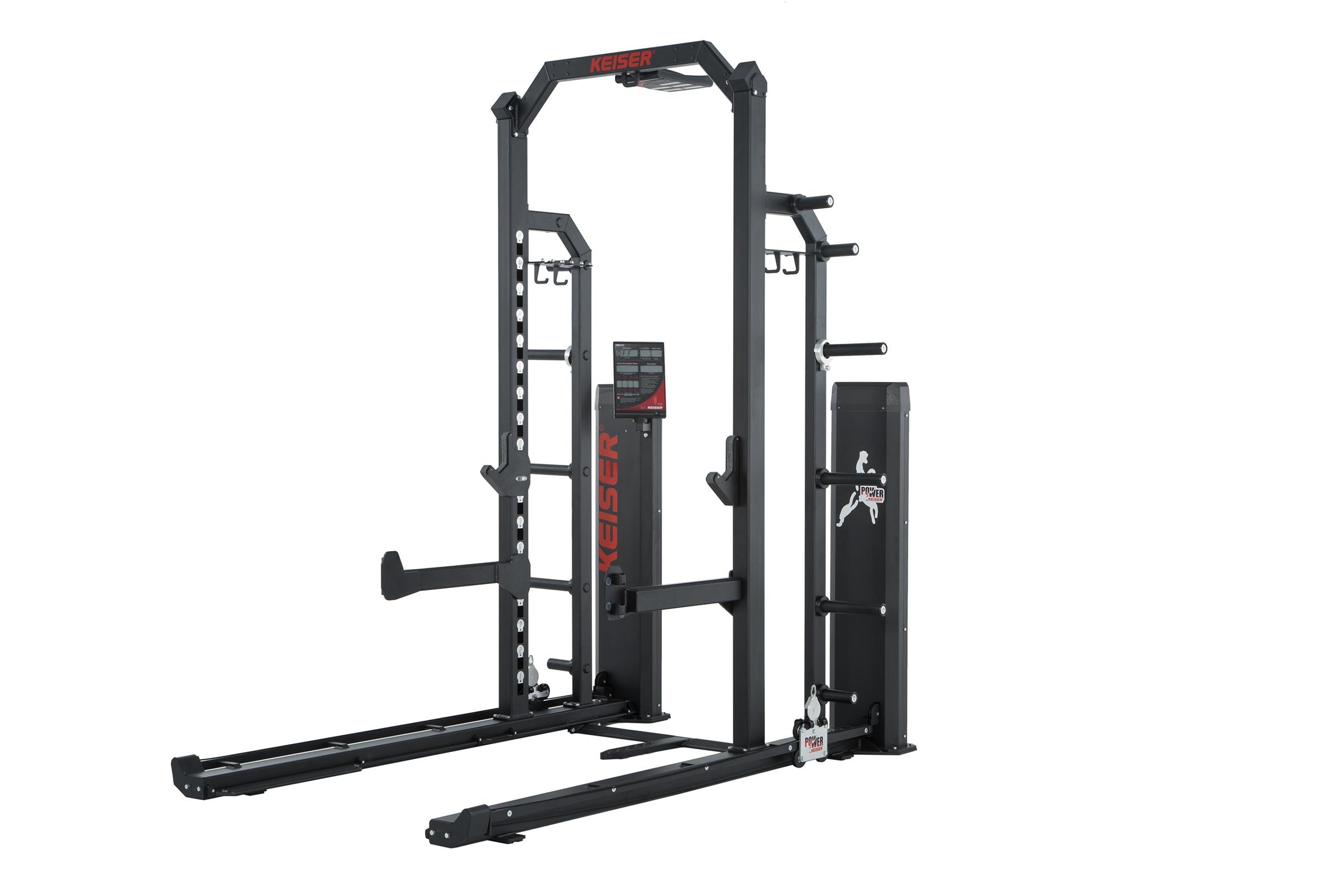 keiser half rack with air fitness machine 1030 jpg