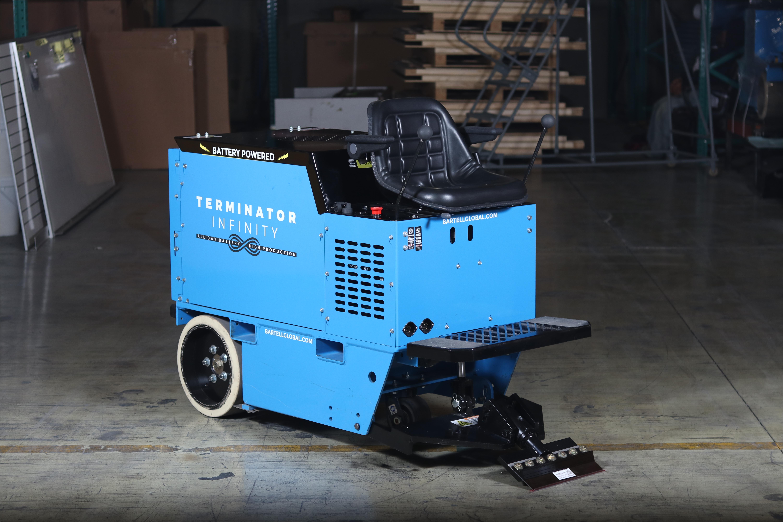 terminator infinity floor scraper battery powered scraper