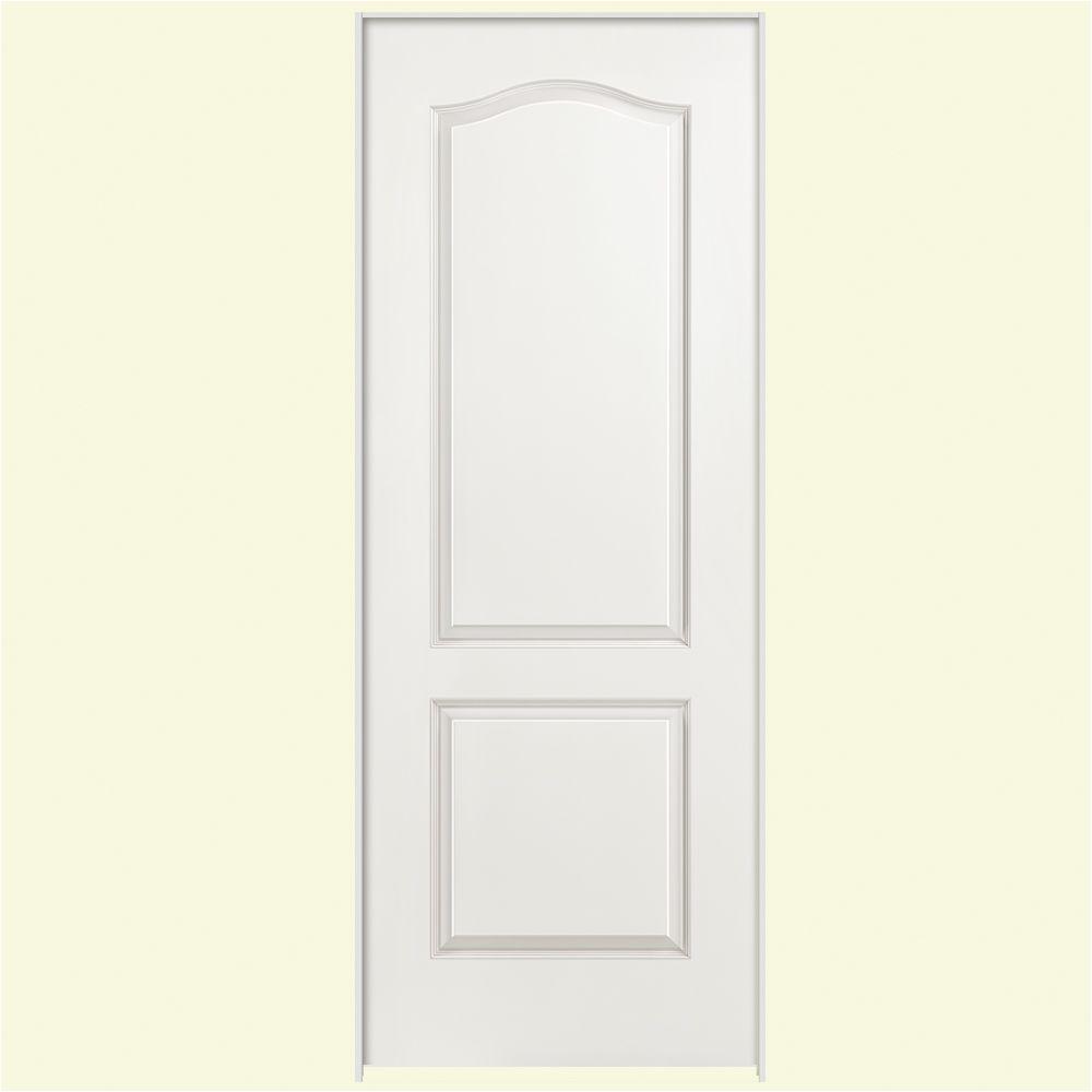 Prehung 8ft Interior Doors Masonite 30 In X 80 In Solidoor 2 Panel Arch Top  Solid