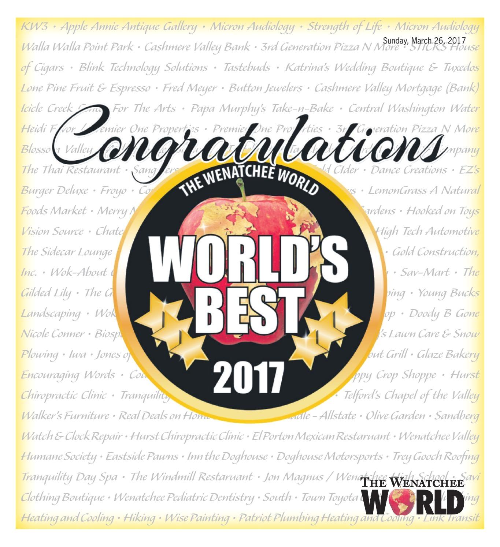 Premier Paint Floor Covering Ellensburg Wa World S Best 2017 by the Wenatchee World issuu