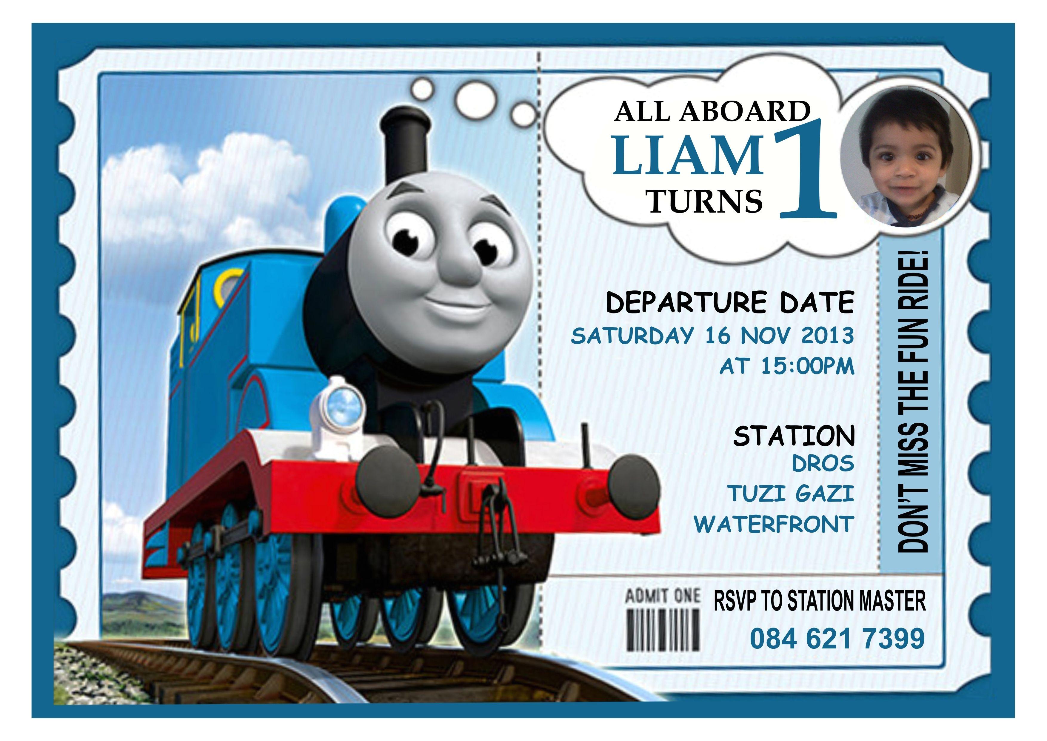thomas lovely thomas the train birthday invitations birthday and