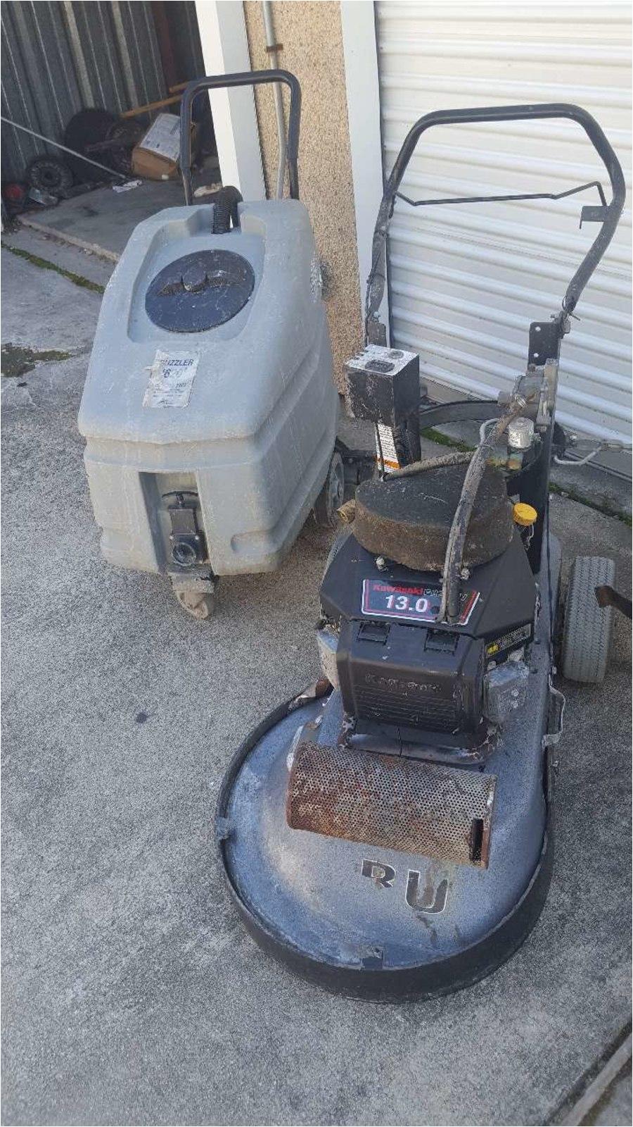 Propane Powered Floor Scraper Used Propane Stripper and Guzzle Phone Number Hidden In Durham