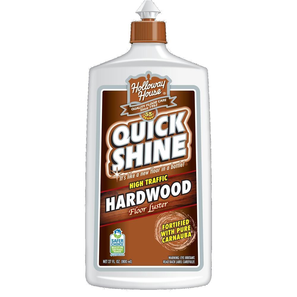 quick shine 27 oz hardwood floor luster