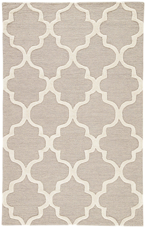 jaipur living city ct30 gray silver trellis chain tiles area rug