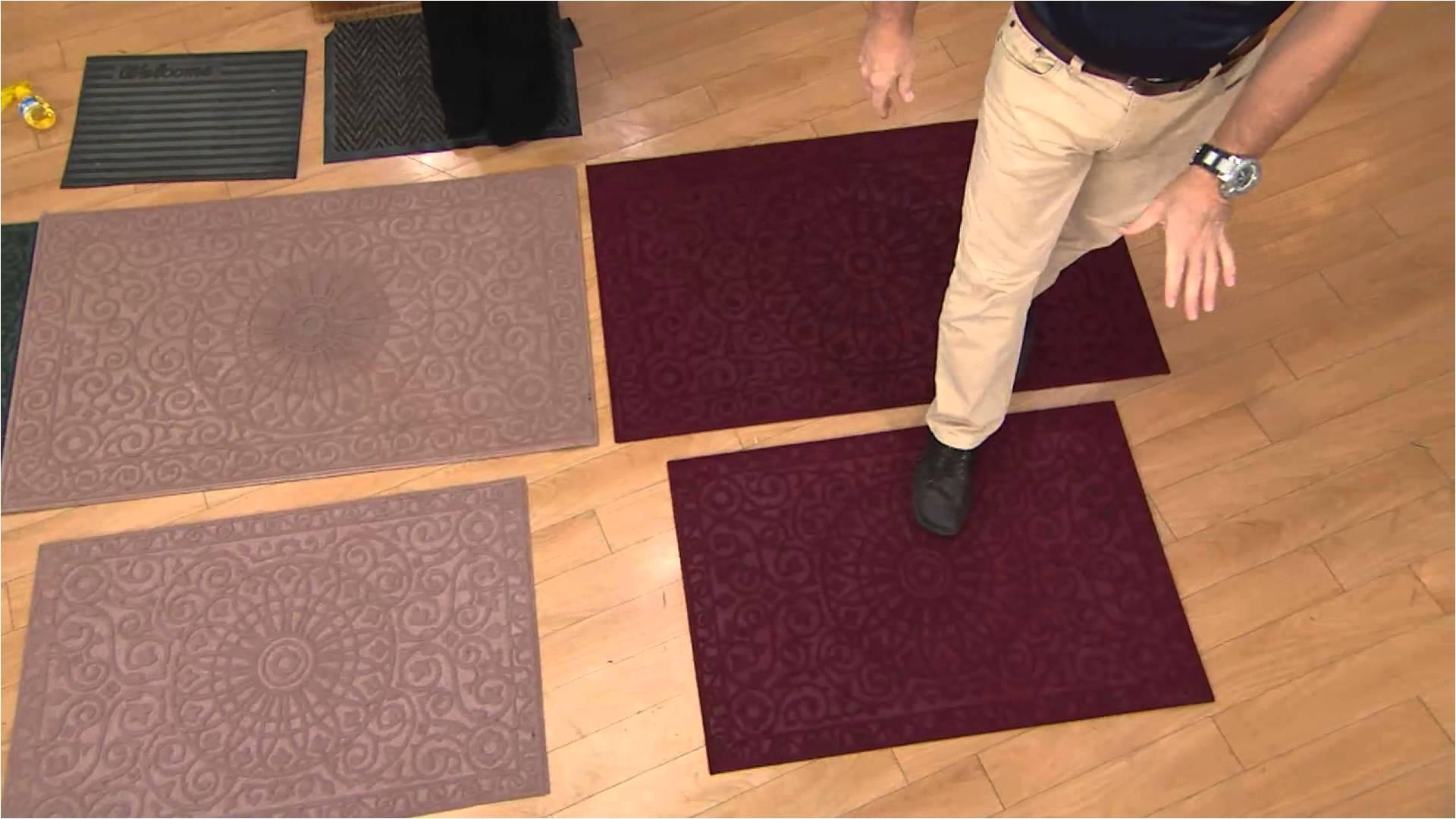don aslett s 27 x 45 grimestopper indoor outdoor mat with gabrielle kerr