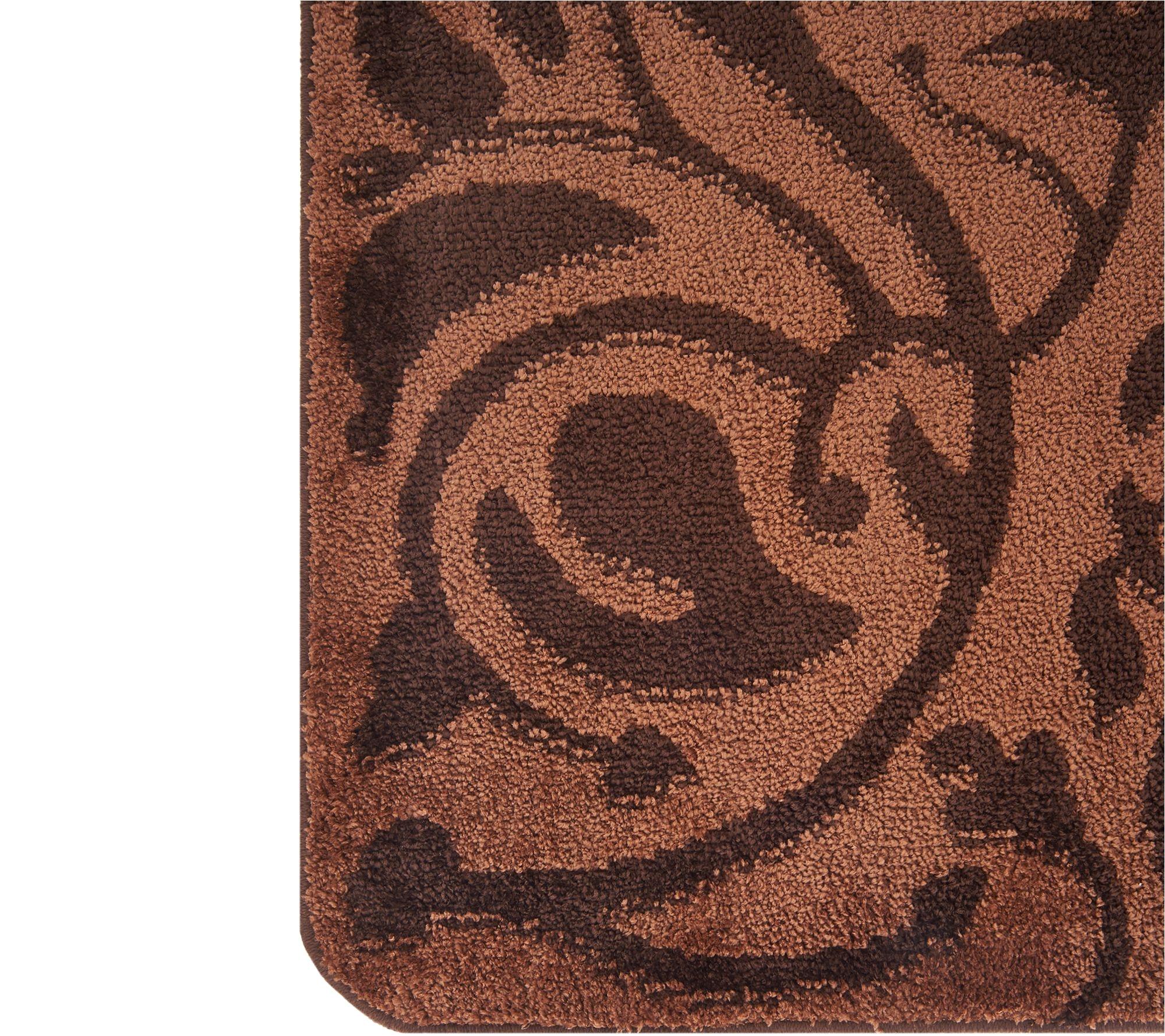 don aslett s set of 2 26 x 38 tonal microfiber indoor mats page 1 qvc com