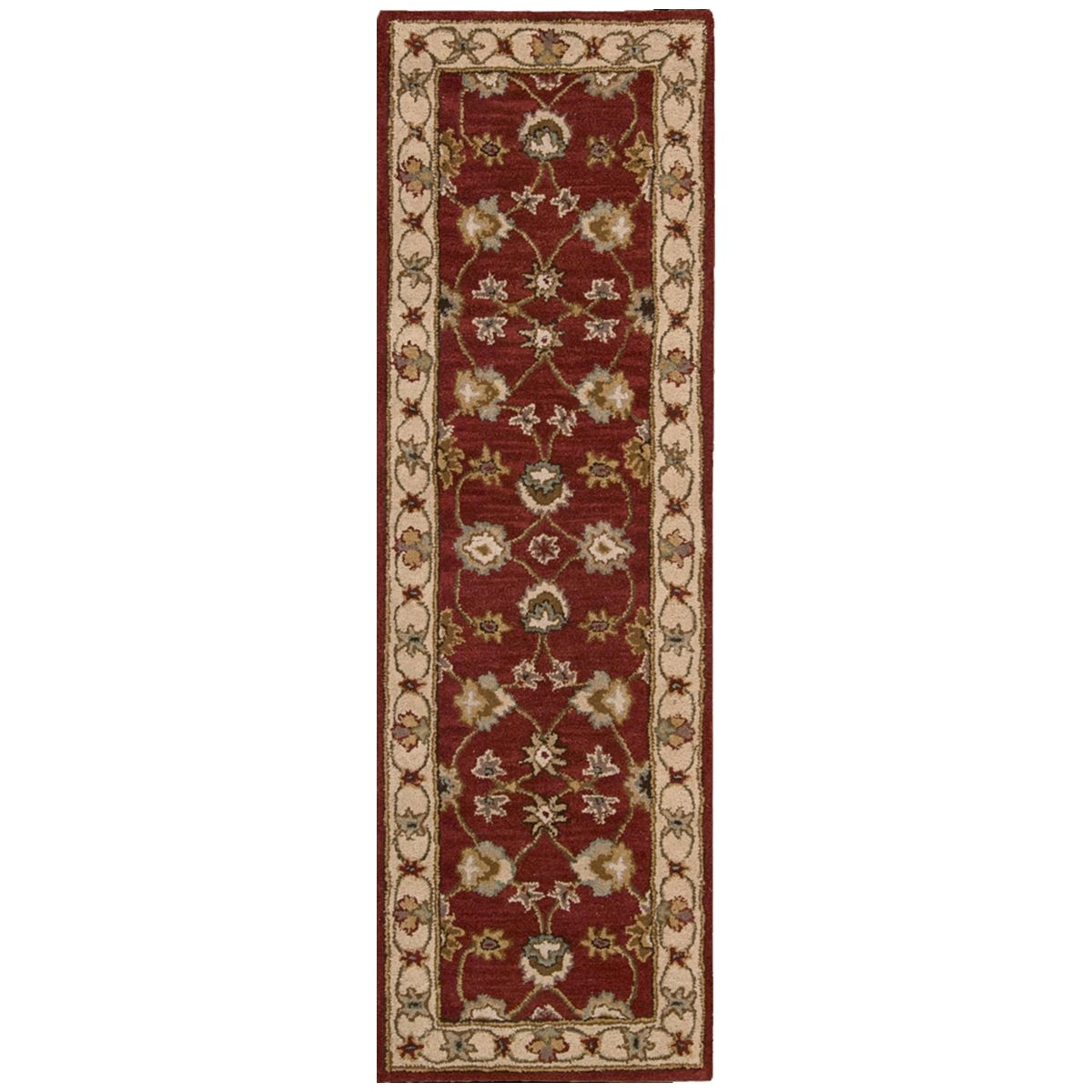 Qvc Large area Rugs Nourison India House Ih72 2 3 X 7 6 Red area Rug 41502 Nourision