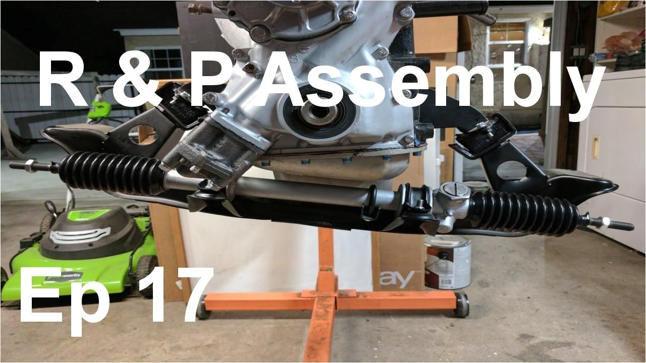 datsun 240z build episode 17 rack and pinion rebuild assembly panchos garage