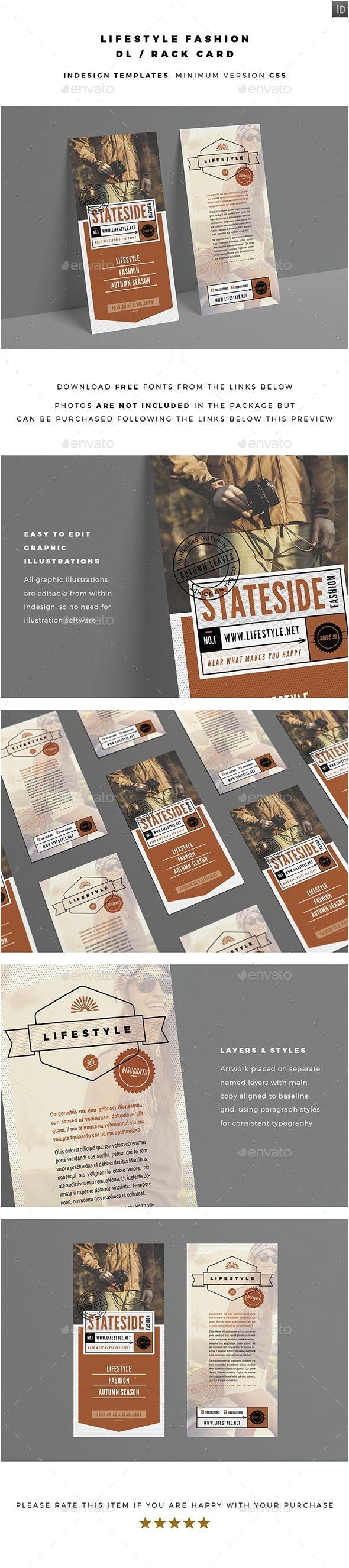 Rack Card Size Indesign 8 Best Rack Cards Images On Pinterest Business Cards Carte De