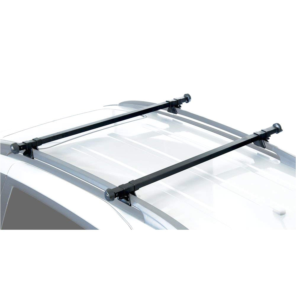 amazon com apex rb 1004 49 universal side rail mounted crossbars discount ramps automotive
