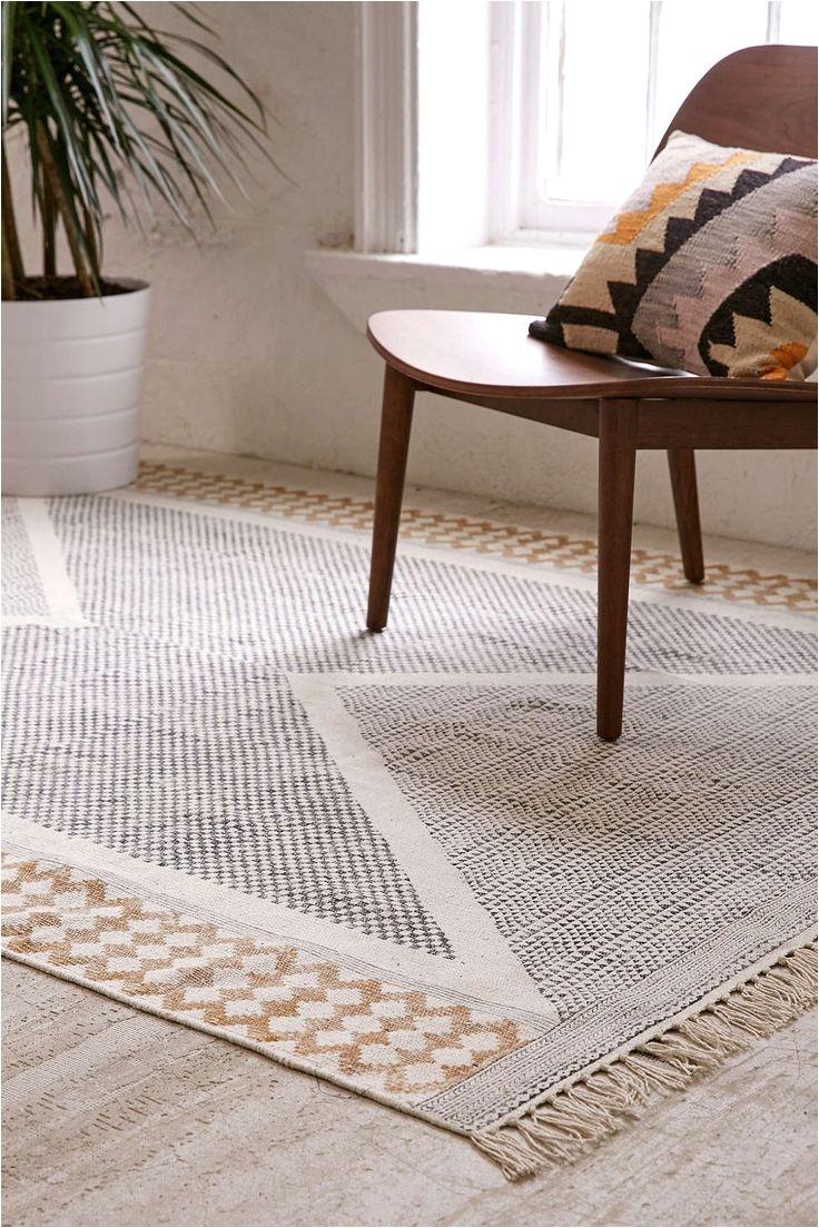 calisa block printed rug