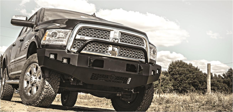 horizon smooth steel front bumper