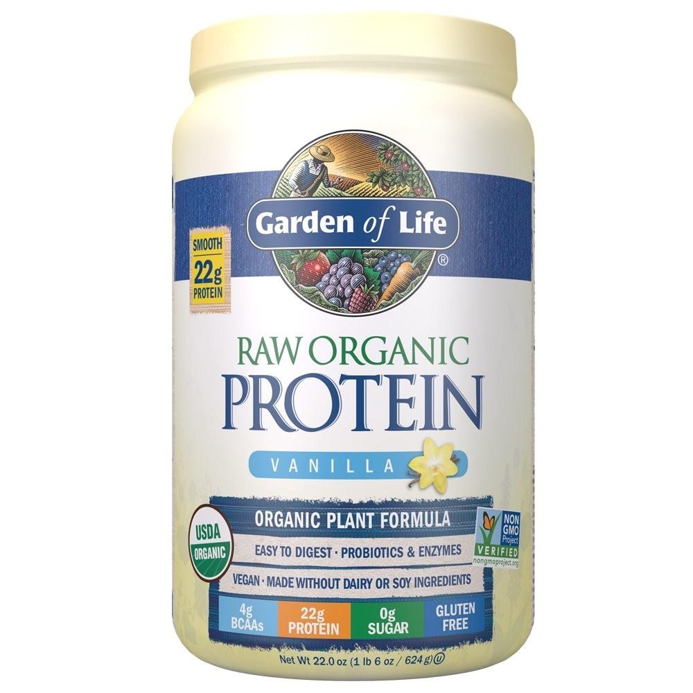 Raw Protein by Garden Of Life Amazon Com Garden Of Life organic Vegan Protein Powder with