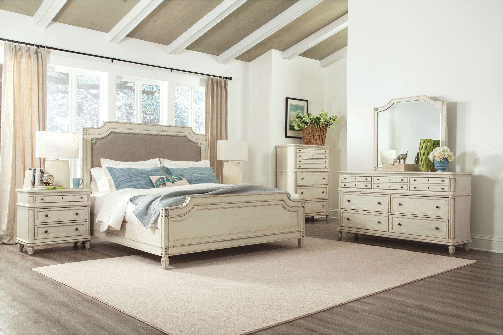 huntleigh upholstered bedroom set riverside home gallery stores