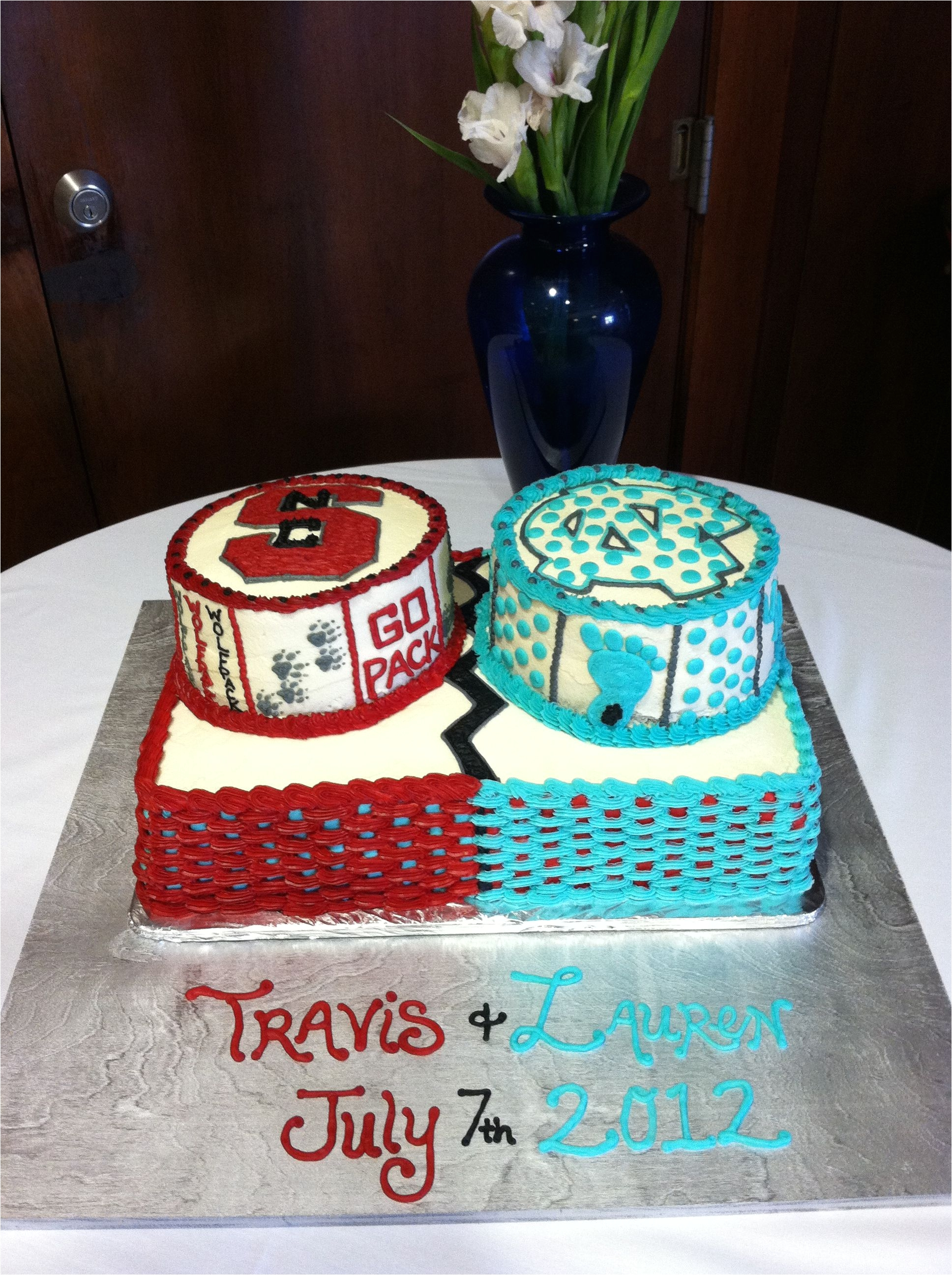 Razorback Cake Decorations House Divided Grooms Cake Cakepins Com Wedding Ideas Pinterest