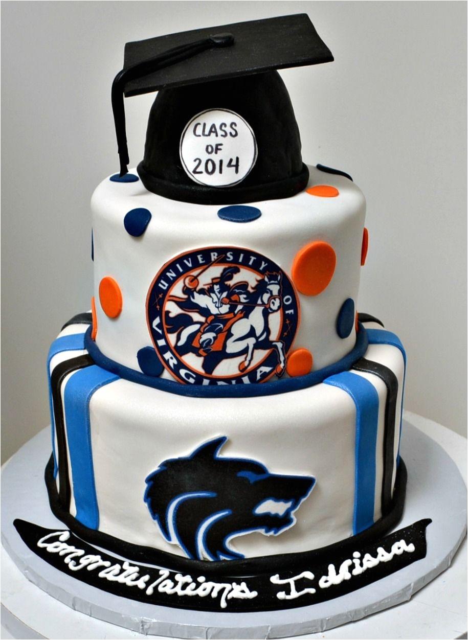 plano west graduation cake