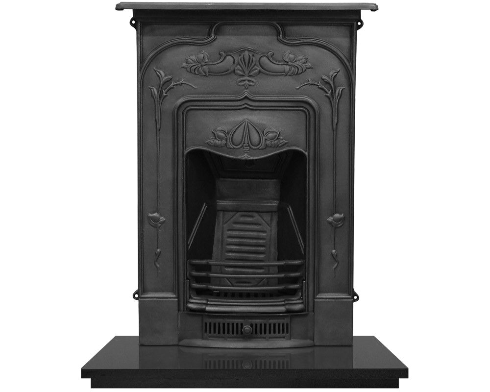 Refurbish Cast Iron Fireplaces the Jasmine Combination Otthon Pinterest Jasmine Mantle and Stove