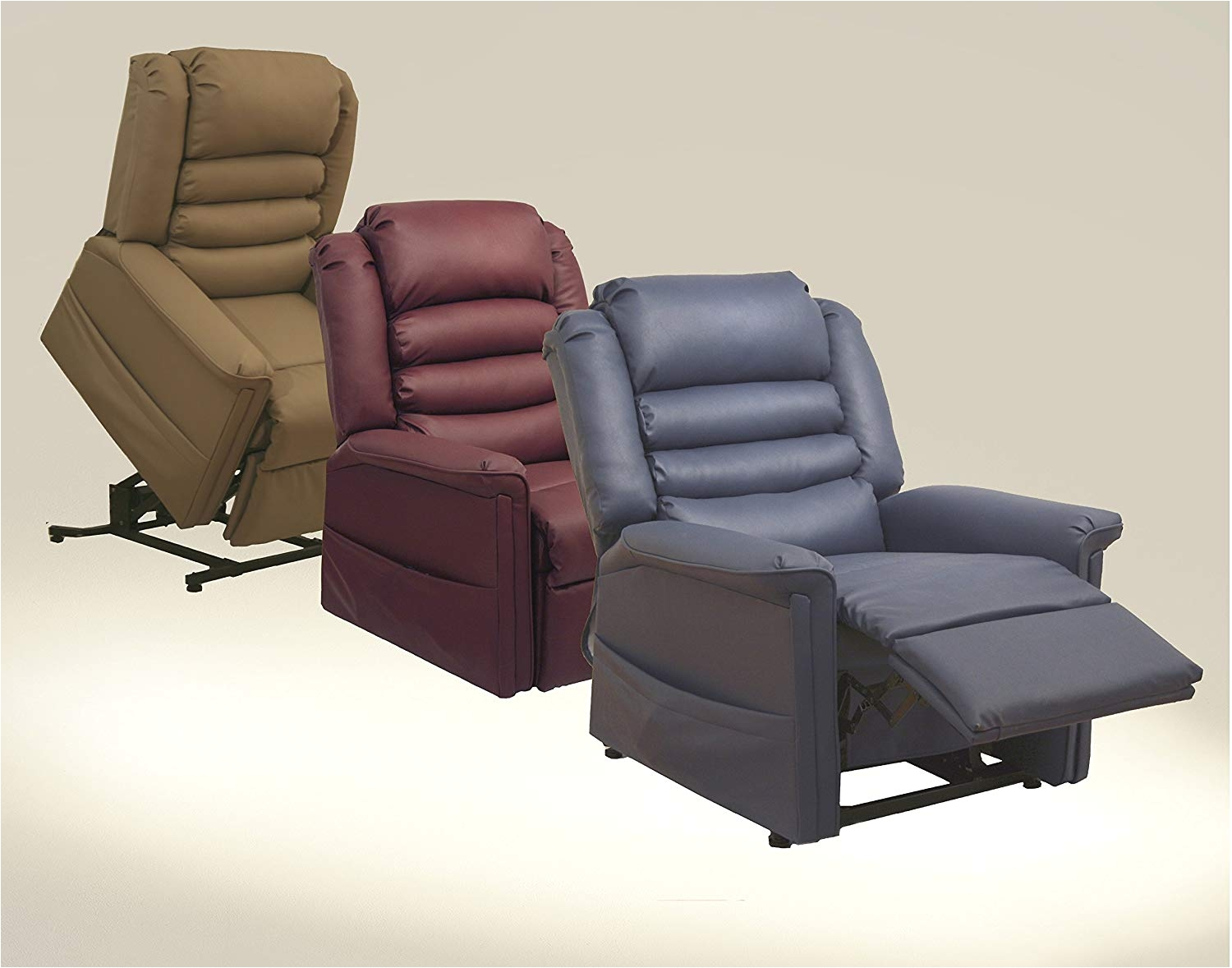 Rent A Center Lift Chair Amazon Com Invincible Pow R Lift Full Lay Out Chaise Recliner Color