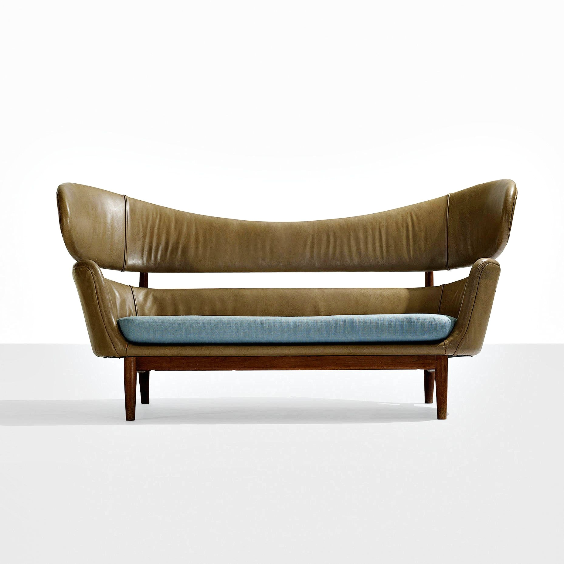 Restoration Hardware Professor Double Chair Leather sofa Scandinavian Interiors Pinterest Leather sofas