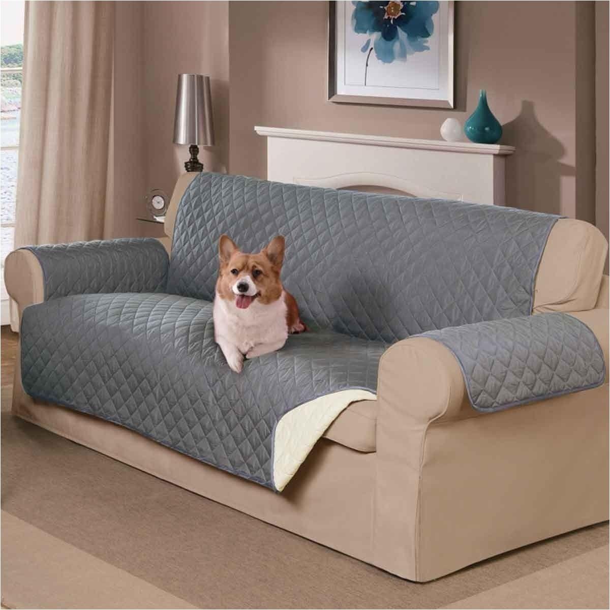 Reversible Pet Extra-long sofa Slipcover Mason Home Decor Reversible Pet sofa Cover Marleys Board