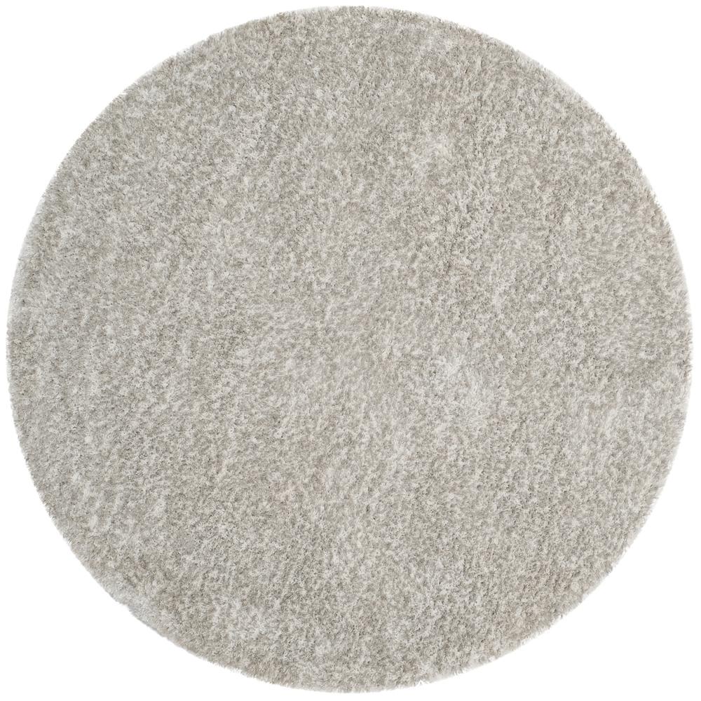 jarrod ivory light gray 5 ft x 5 ft round area rug