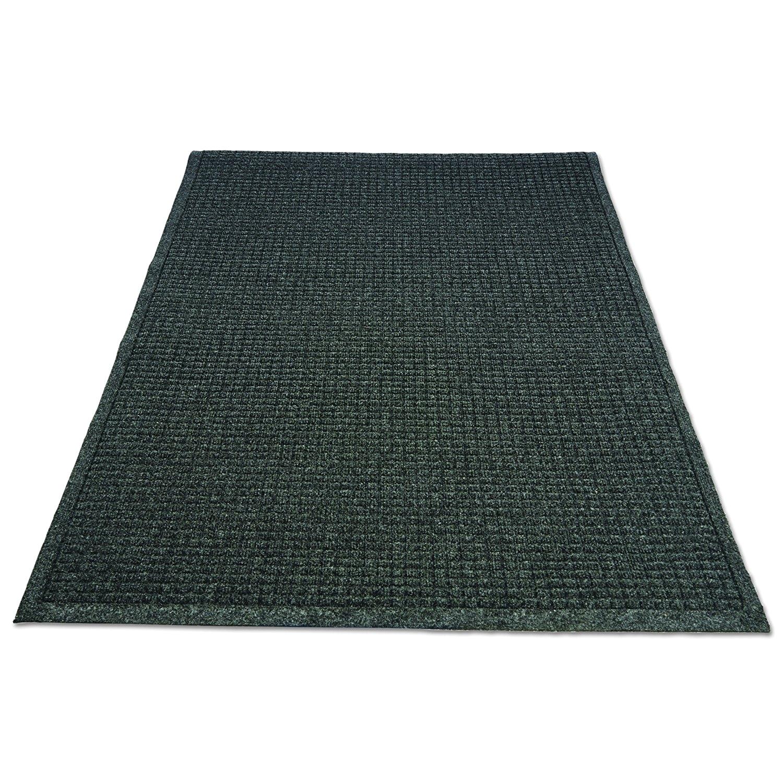 guardian ecoguard indoor wiper floor mat recycled plastic and rubber 2 x3 charcoal amazon com industrial scientific