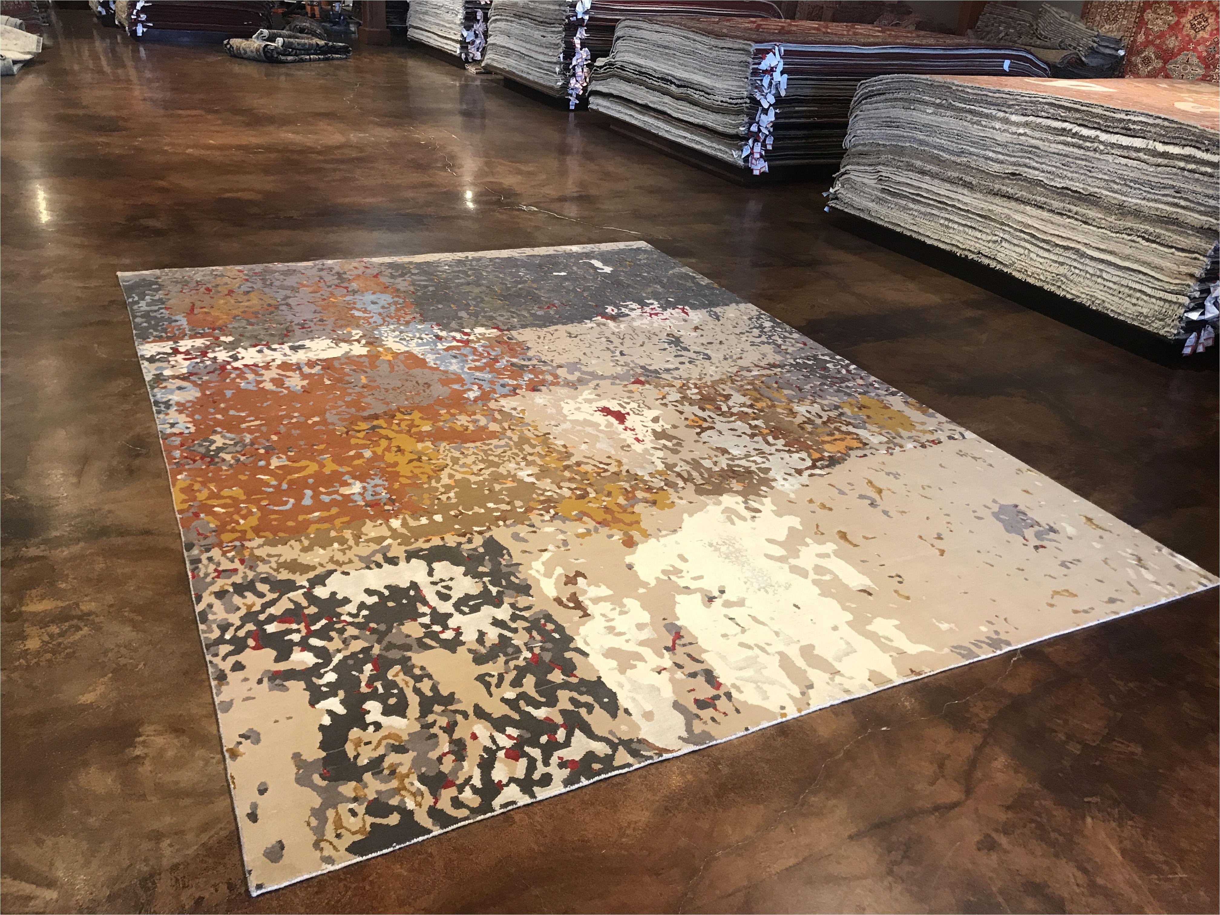 modern rug wool silk valuable size 8x10 9x12 10x14 12x16