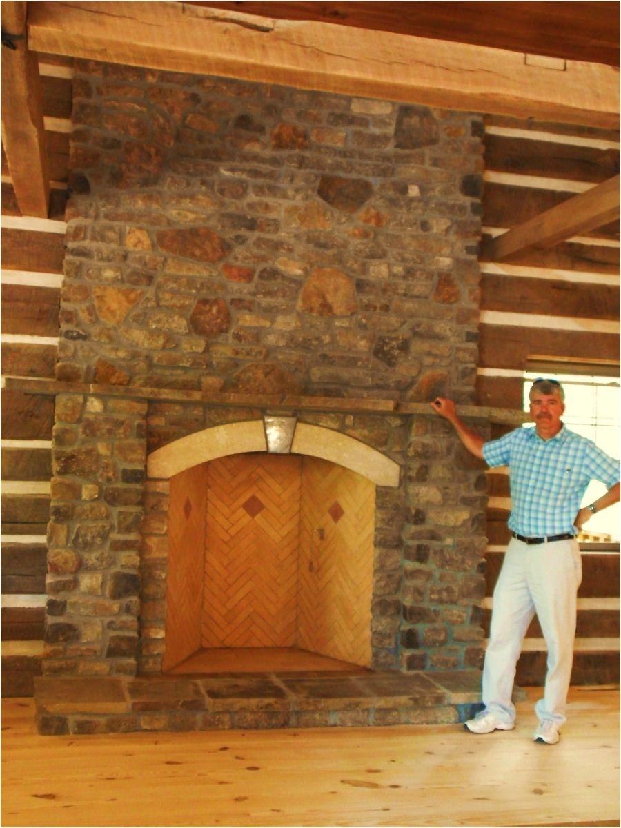 custom made 48 rumford fireplace in hermann mo