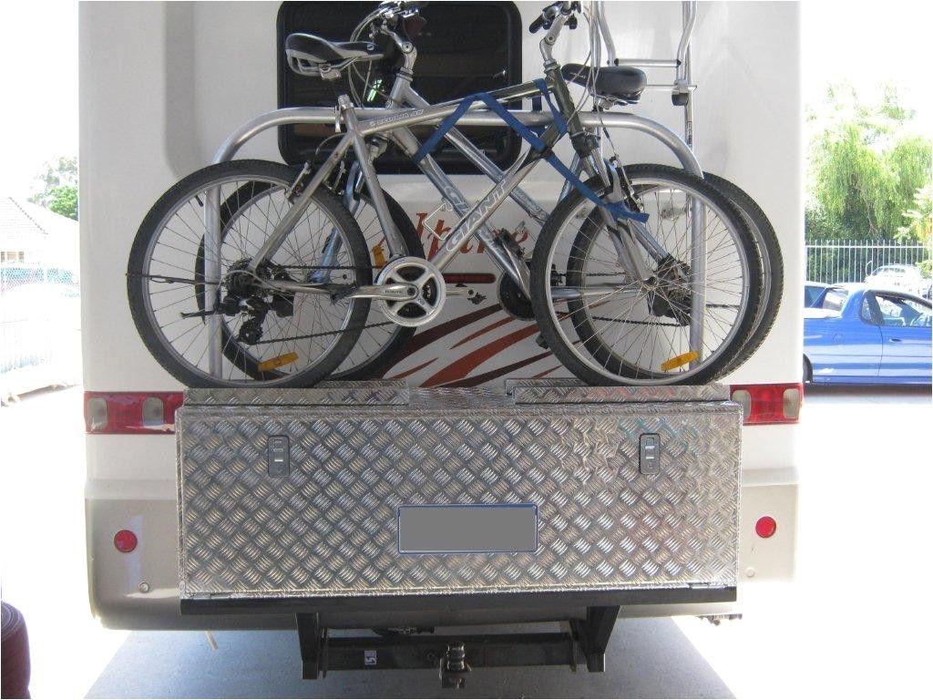 30 awesome camper bike rack ideas