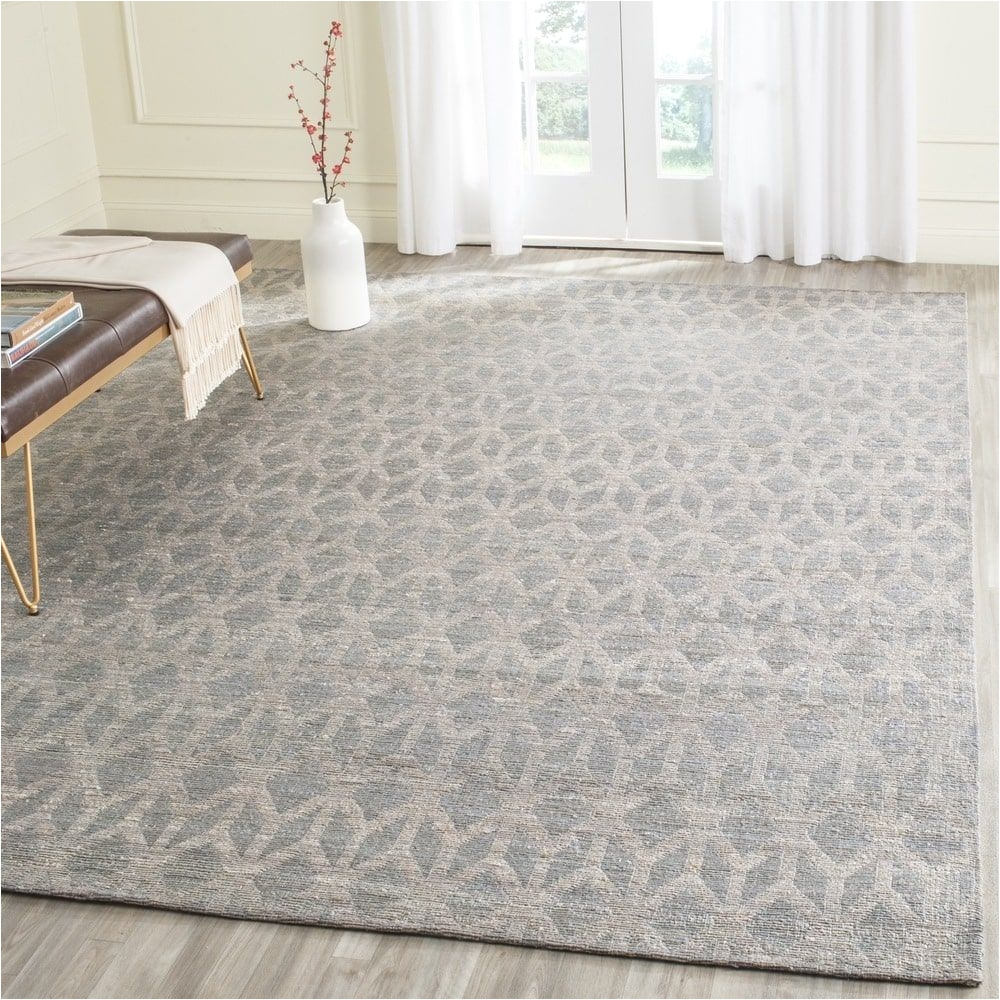 safavieh cape cod handmade grey gold jute natural fiber rug 8 x 10