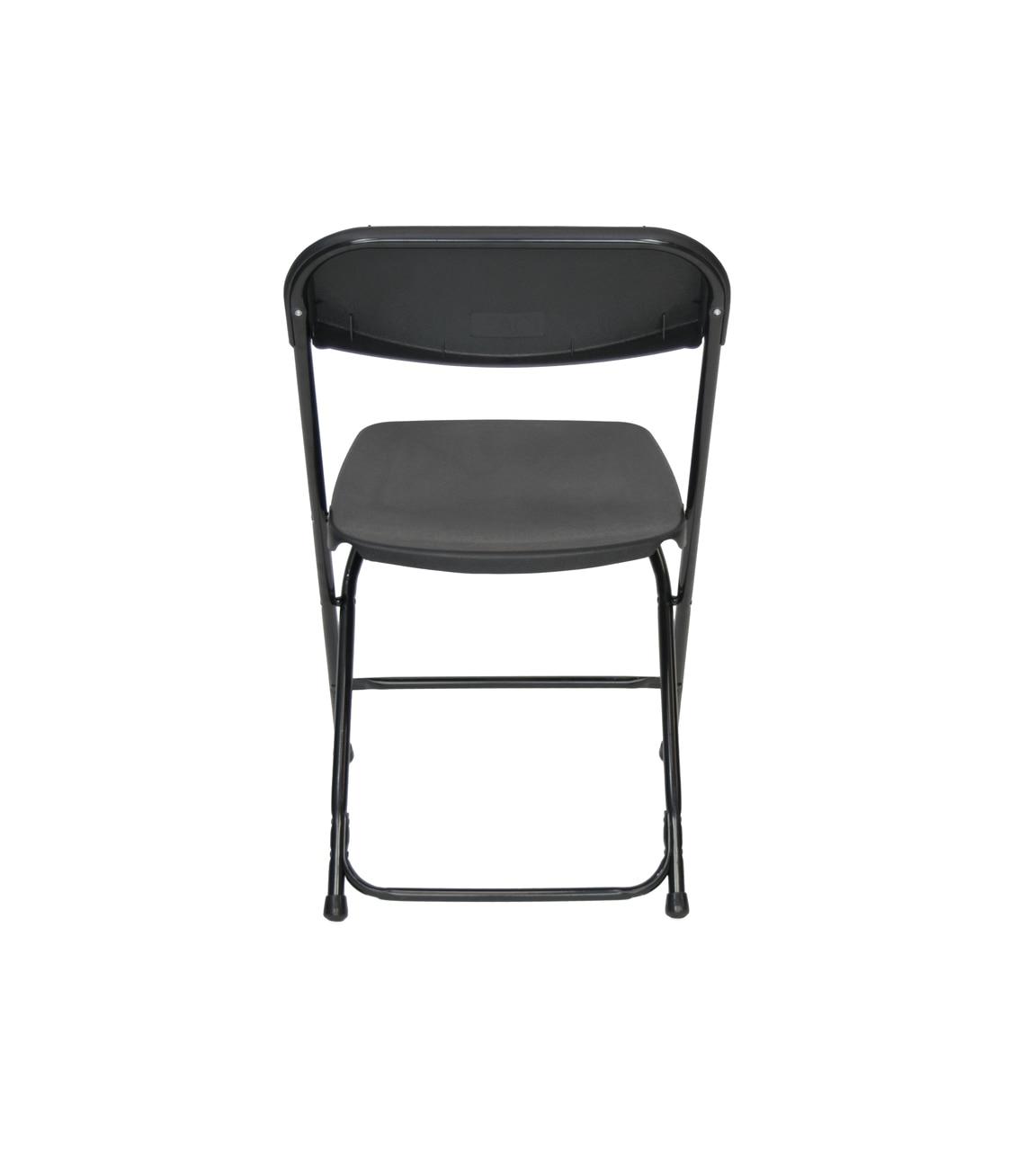 Sams Club Folding Chairs and Tables Black Plastic Folding Chair Premium Rental Style