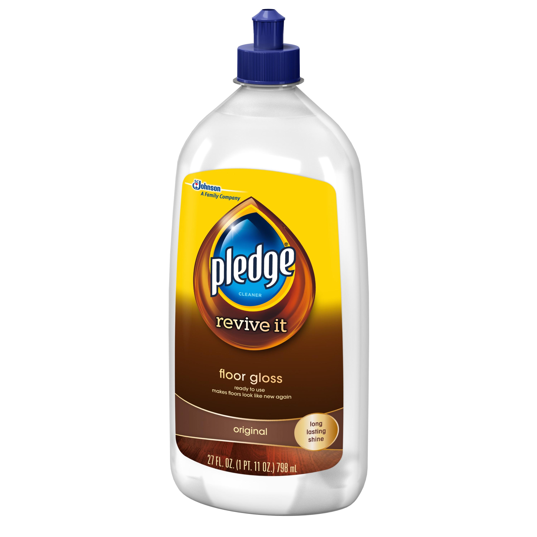 Sc Johnson Liquid Floor Wax Pledge Floor Gloss original 27 Fluid Ounces Walmart Com