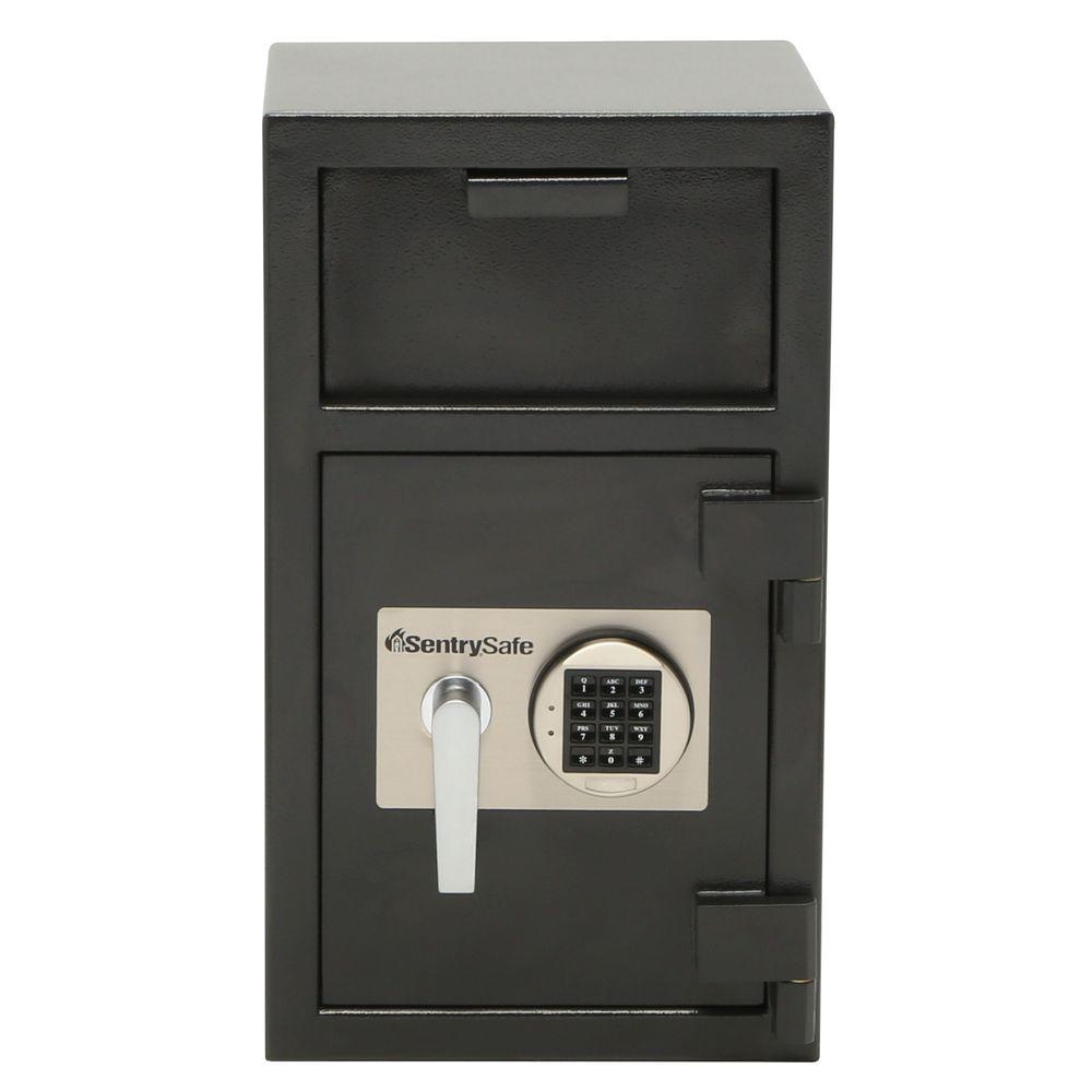 sentrysafe 1 3 cu ft depository safe electronic lock drop slot safe