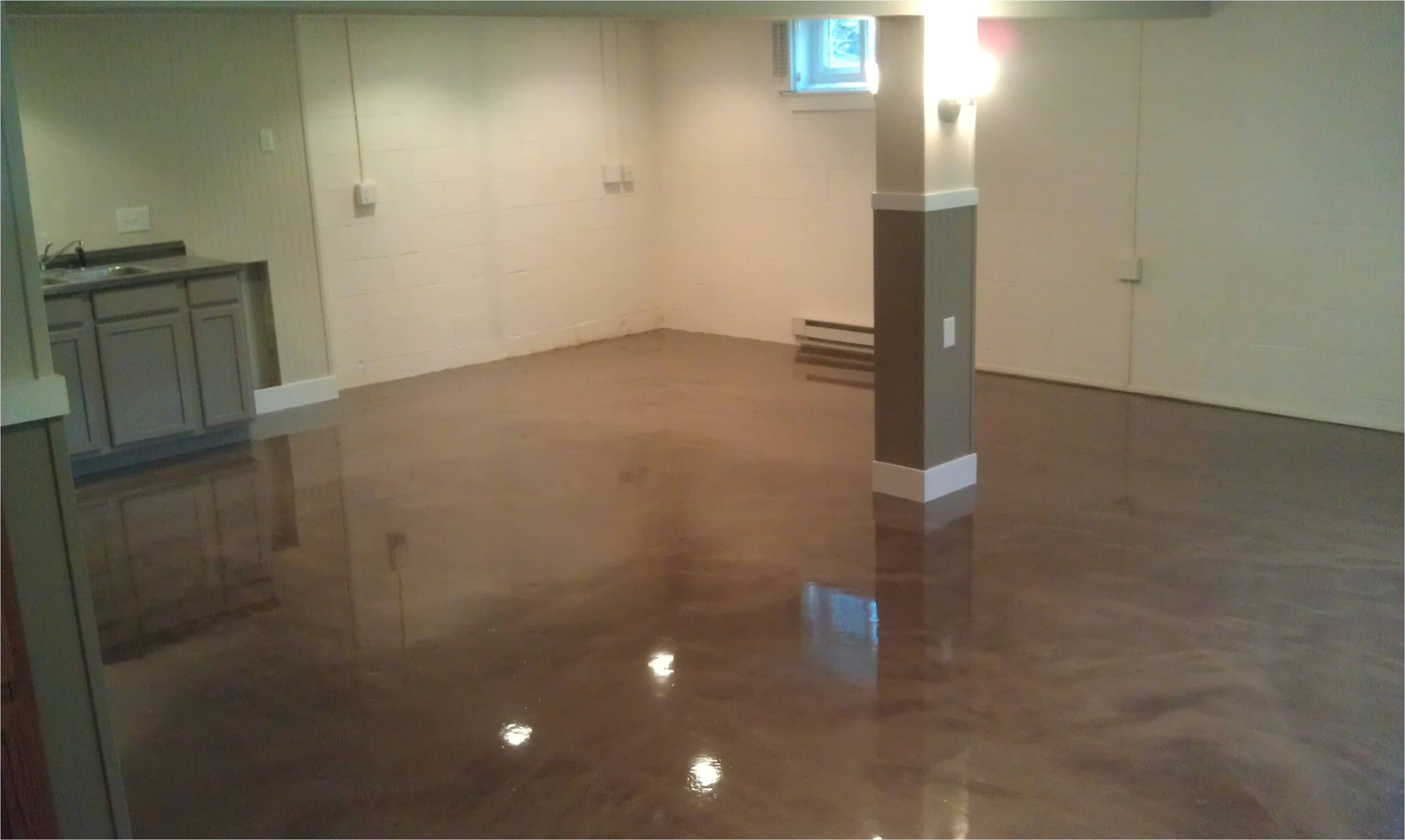 basement epoxy flooring images
