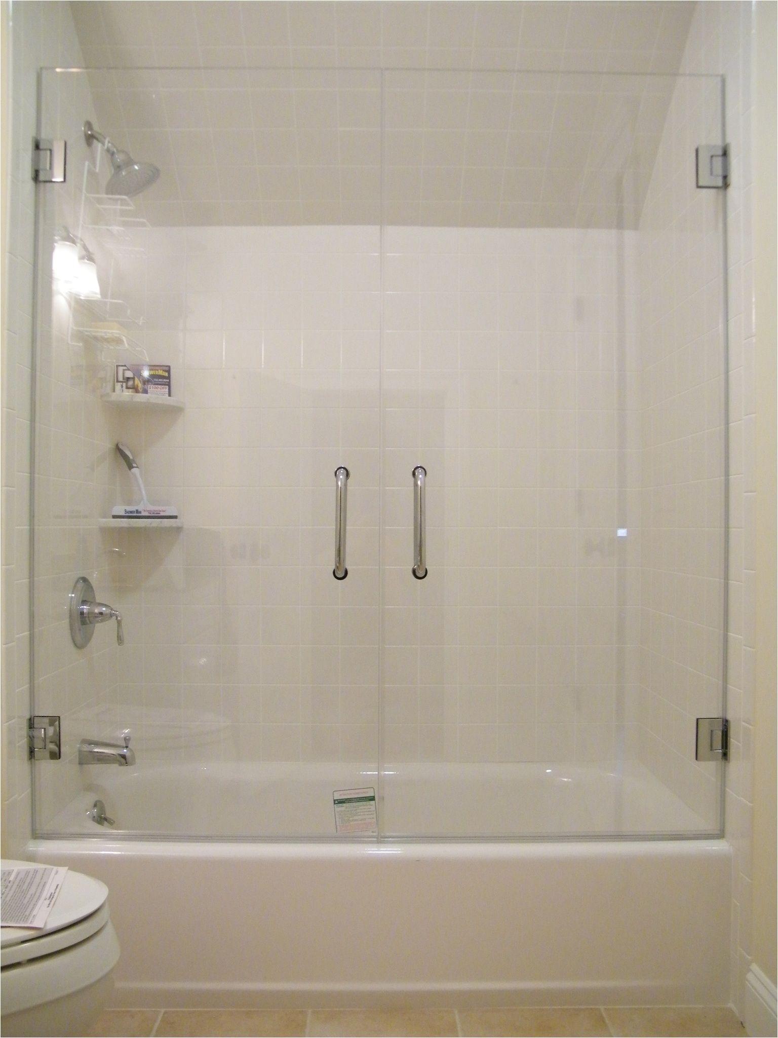 Shower Doors Of Austin Frameless Glass Tub Enclosure Framless Glass