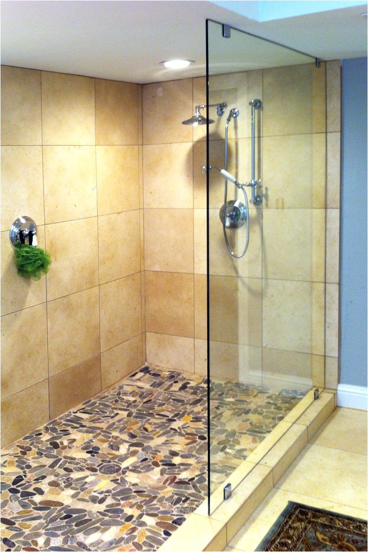 glass shower panels frameless