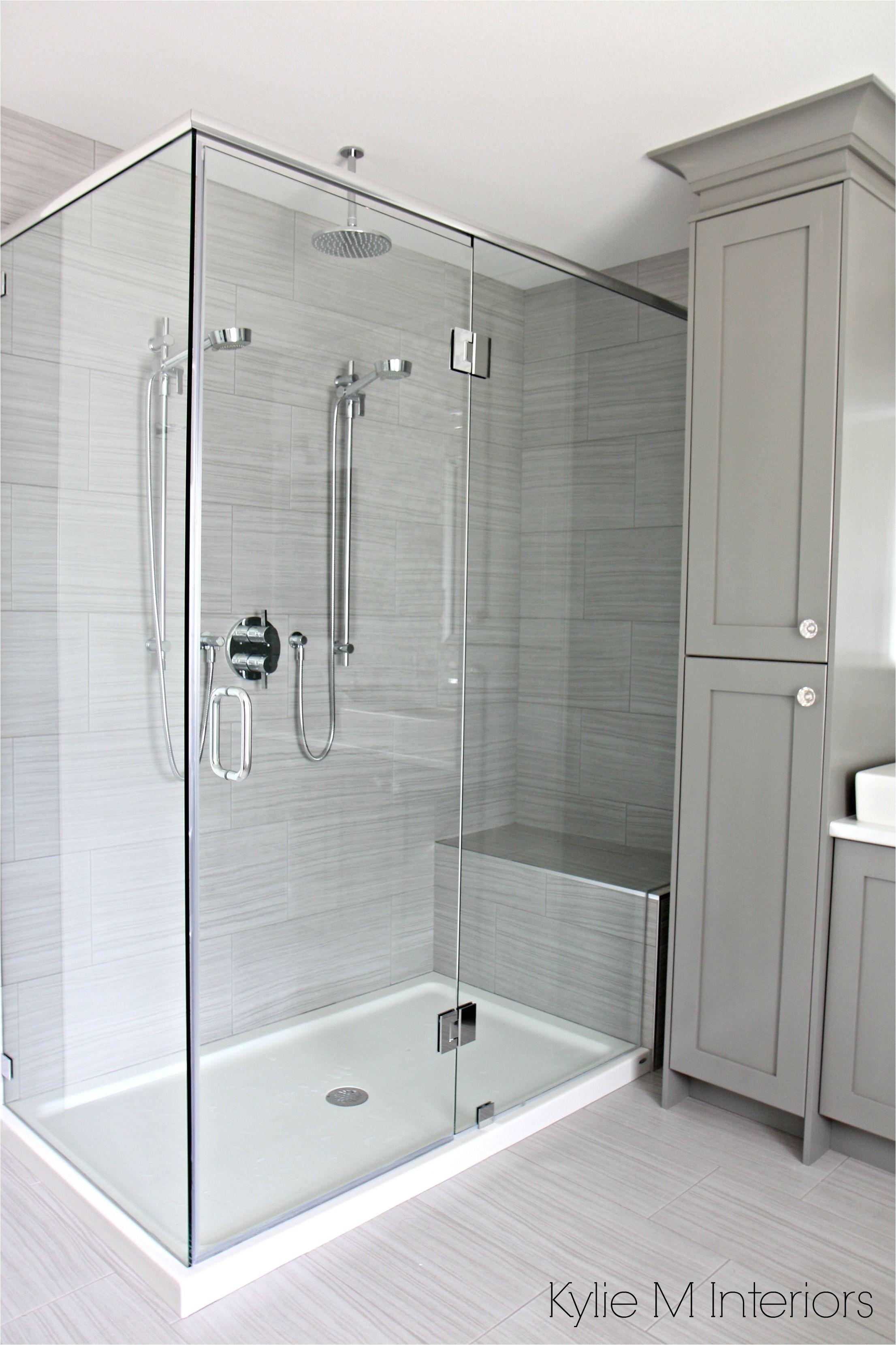 Shower Doors Of Austin Walk In Shower with 2 Shower Heads Fibreglass ...