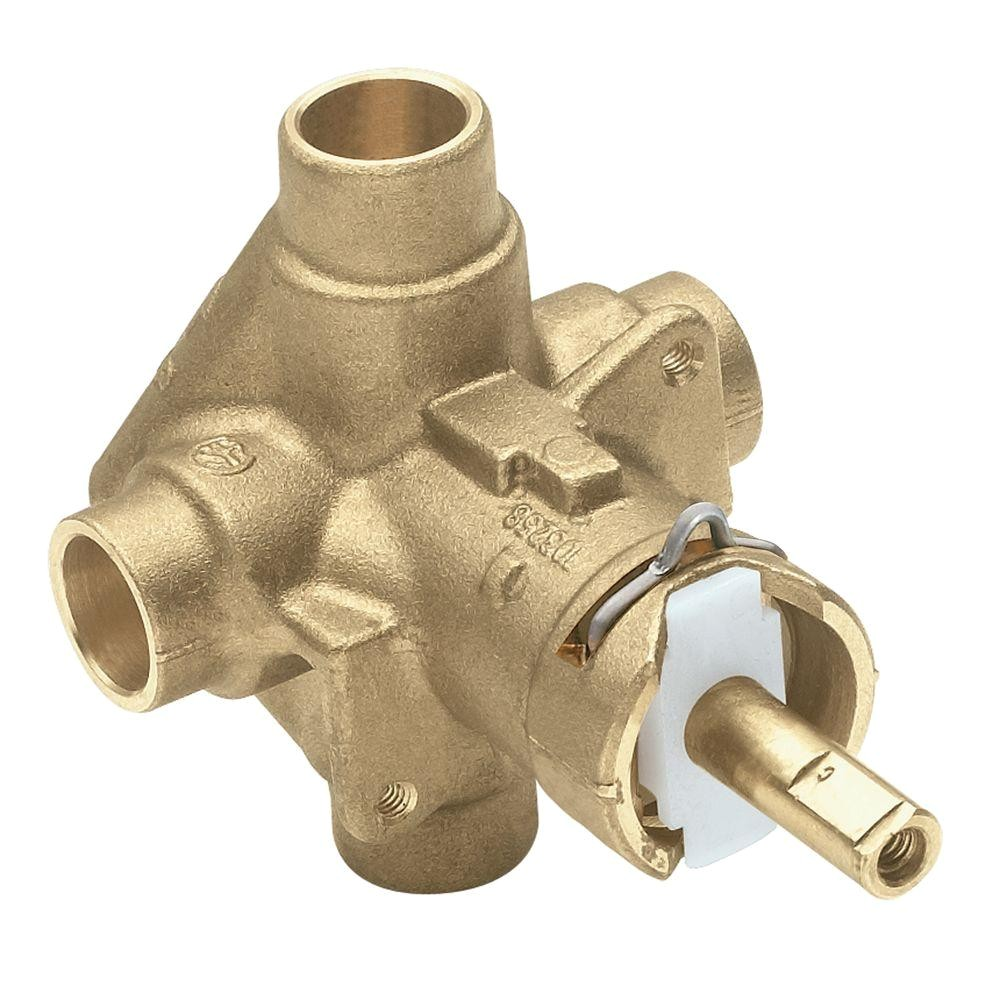 Shower Valve Replacement Cost Mixing Valves Valves the Home Depot