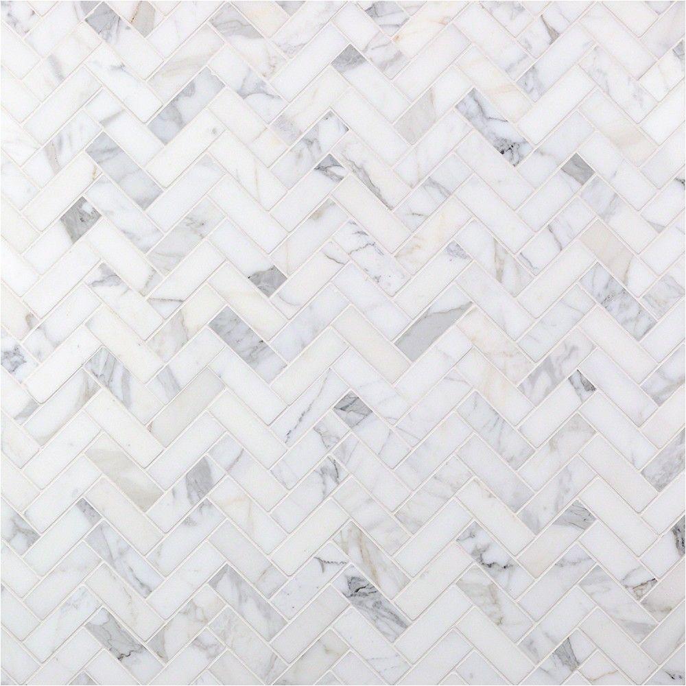 calacatta herringbone marble tile tilebar com