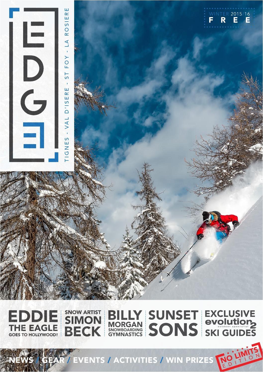 edge magazine tignes val d isere la rosiere sainte foy by edge magazine issuu