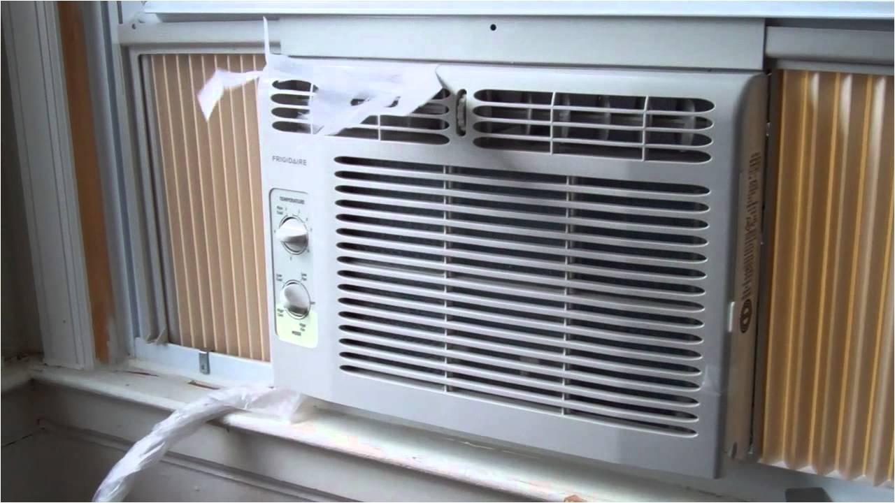gorgeous white slider window air conditioner