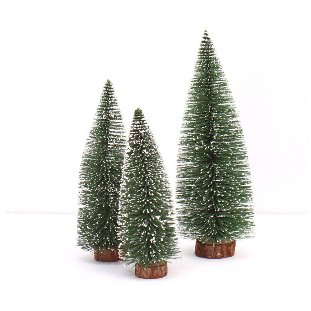 Small Decorative Pine Trees Ourwarm Kids Diy Felt Christmas