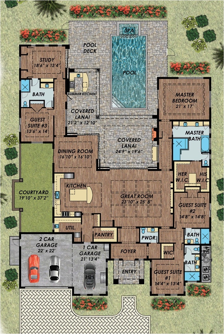Small House Plans with 2 Car Garage Duplex Floor Plans with Garage Endingstereotypesforamerica org