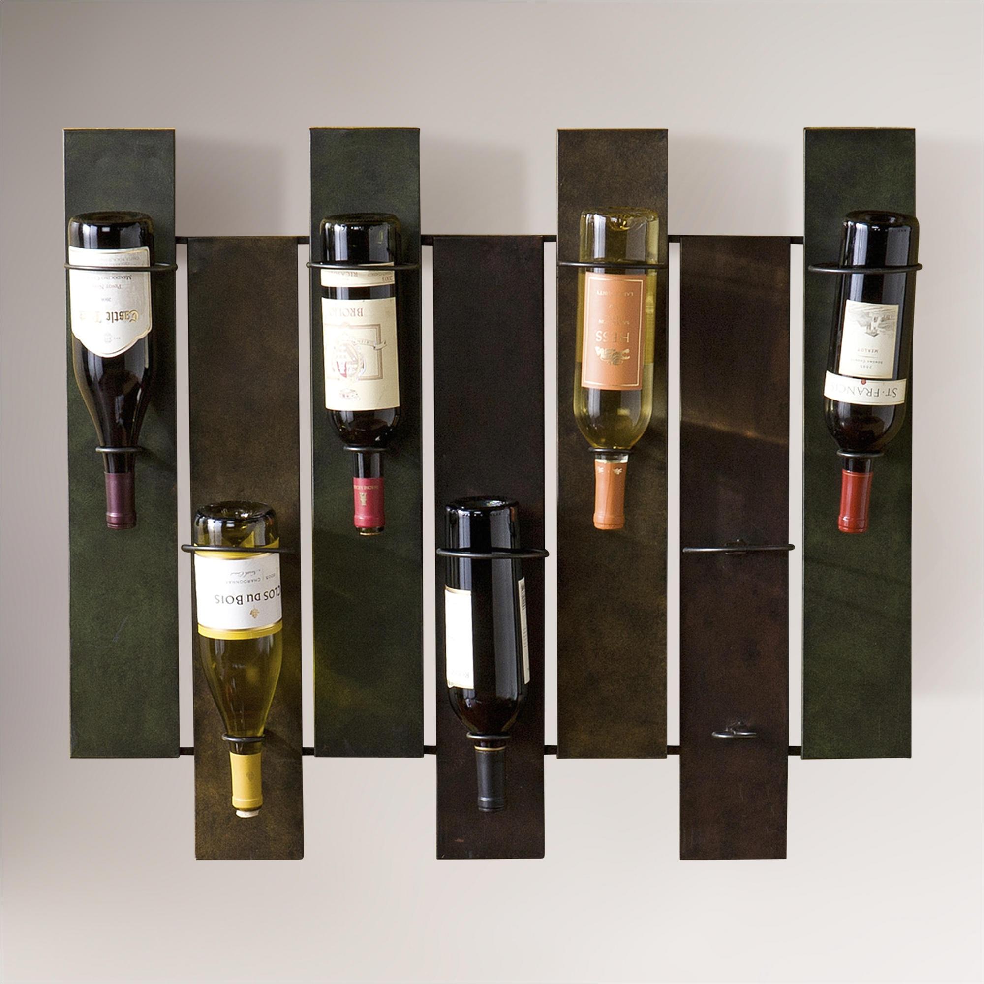 diy wall wine rack google search