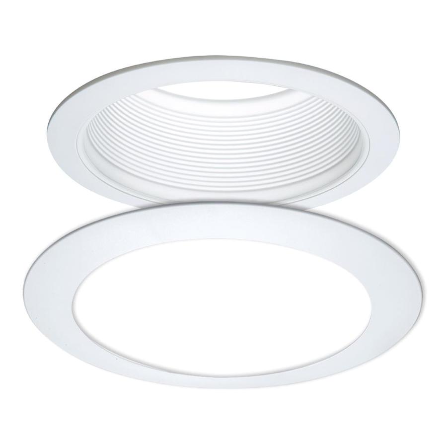 halo e series white baffle recessed light trim baffle fits housing diameter 6