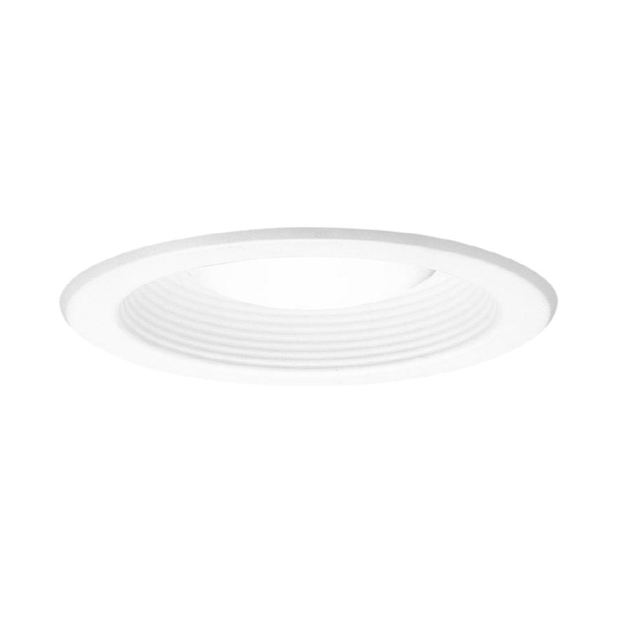 halo white open recessed light trim fits housing diameter 5 in